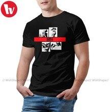 T-Shirt manches courtes homme, en coton, avec grand graphique, amusant et à la mode, Cowboy Bebop, Let Us Go