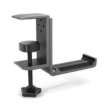Headphone-Hook-Holder Hanger Clamp-Supports Vertical-Installation Universal Headset