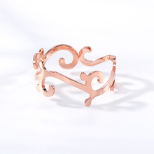 Silvr Gothic Hollow Pattern Cross Lace Rings Opening Adjustable For Women Ring Gift Jewelry Bijoux