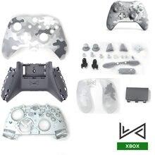Für Xbox One Schlank Controller Gehäuse Shell Kit Für XBOX ONE S Abdeckung Limited Edition Mit Tasten Thumbsticks Stoßstange