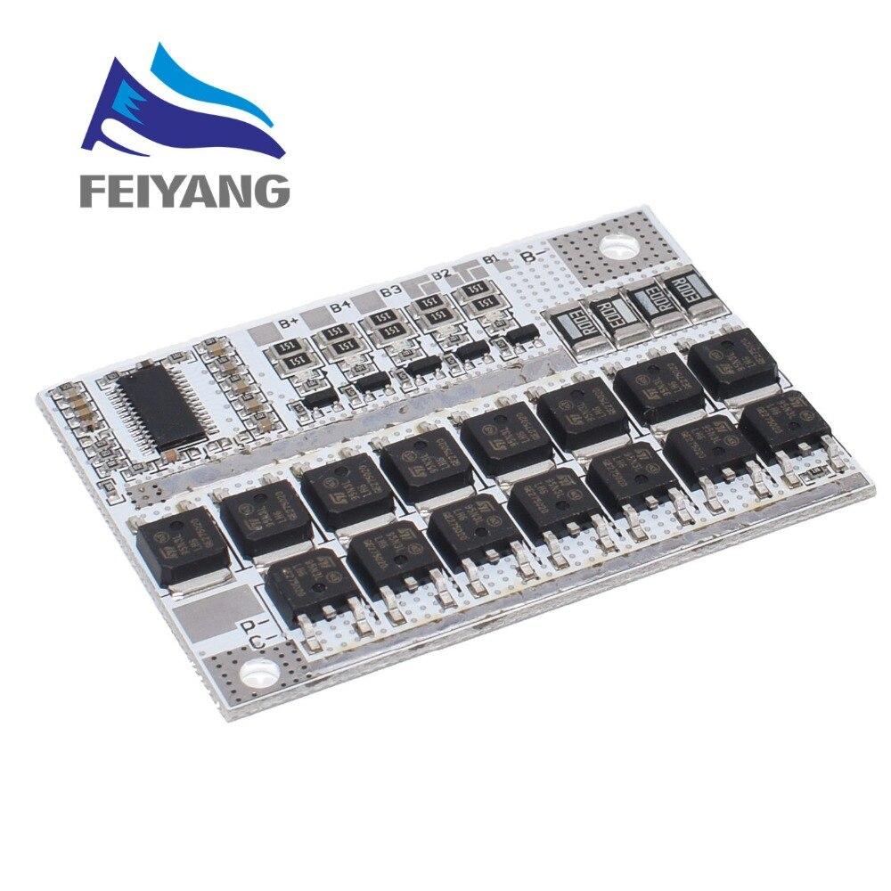 Защитная печатная плата для литий-ионных и литий-полимерных аккумуляторов 3s/4s/5s Bms 12v 16,8 v 21v 3,7 v 100a