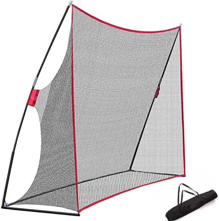 Large 10x7ft Portable Golf Net With Carry Bag Amazon Hot Sell Practice Driving Indoor Outdoor Golf Hitting Net