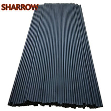 12/24Pcs 30 Archery Carbon Arrow Shaft Spine 400 Shafts for DIY Arrows Tools Bow Outdoor Shooting Practice Accessories