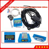 TUF 2000M Módulo Digital Ultrasonic Flow Meter Medidor de Vazão com Alta Temp TL 1 HT Tamanho Grande Transdutor Sensor DN300 6000mm|Medidores de vazão| |  -