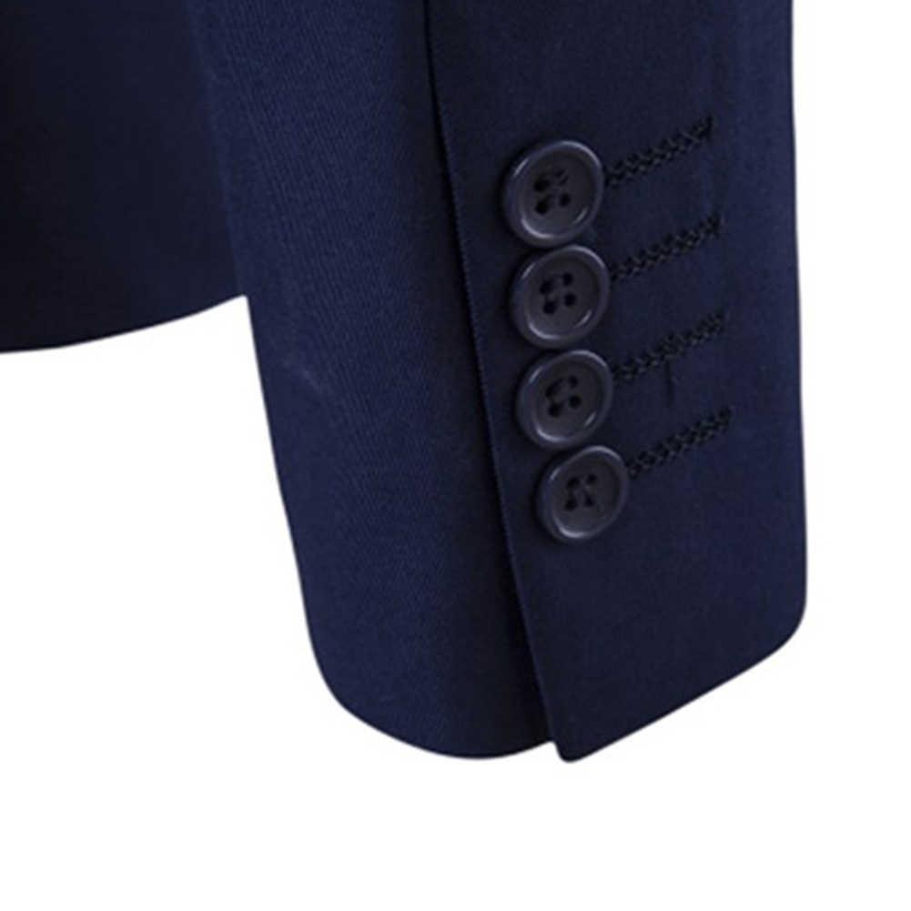 3 ピース/セット高級メンズスーツセットグレー正式なブレザーパンツベスト結婚タキシード男性ビジネススーツセット terno ウェディングメンズスーツスリム