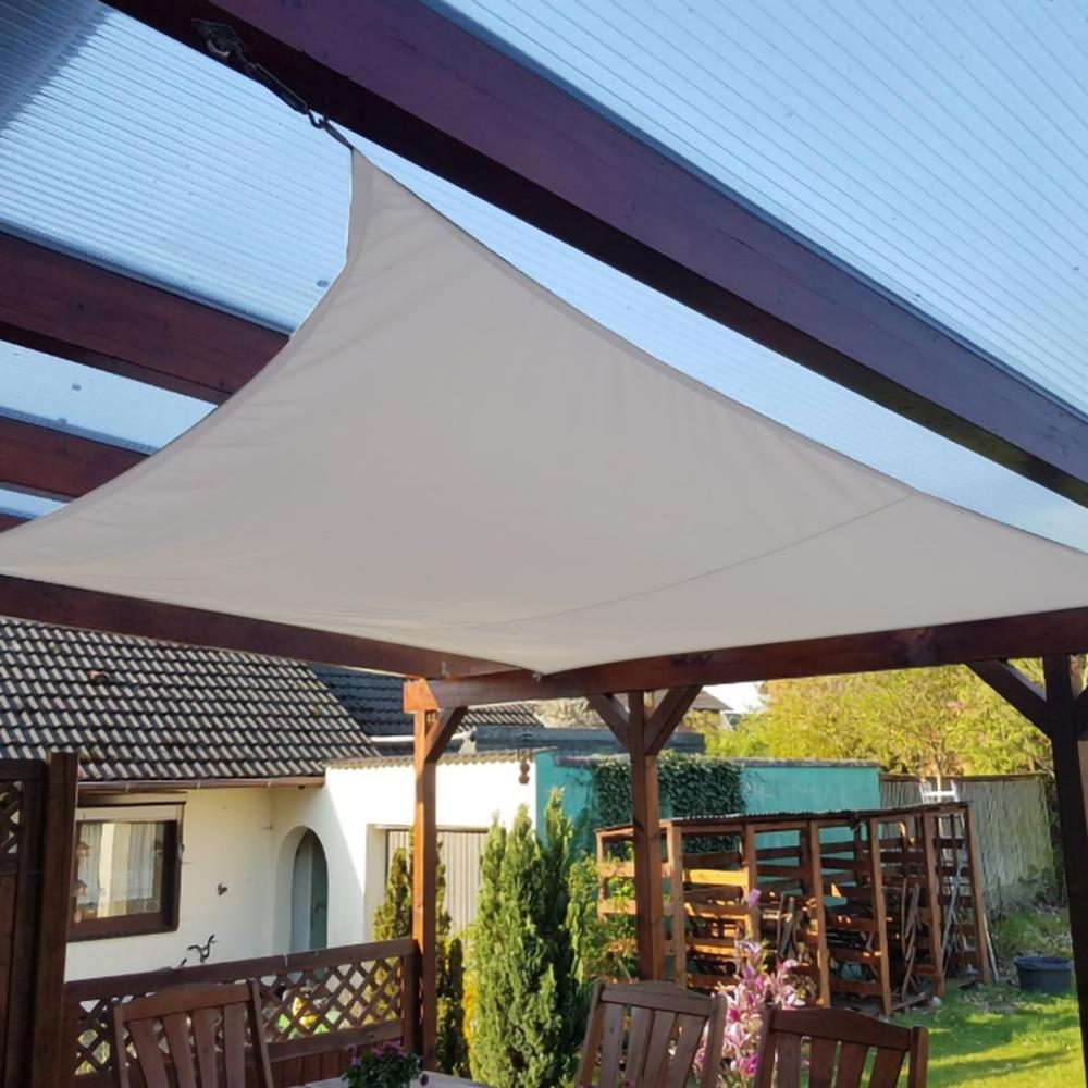 4x3m Awning Large Sun Shelter Outdoor Canopy Garden Patio Pool Shade Sail Awning Camping Shade Waterproof Tent Sun Shelter