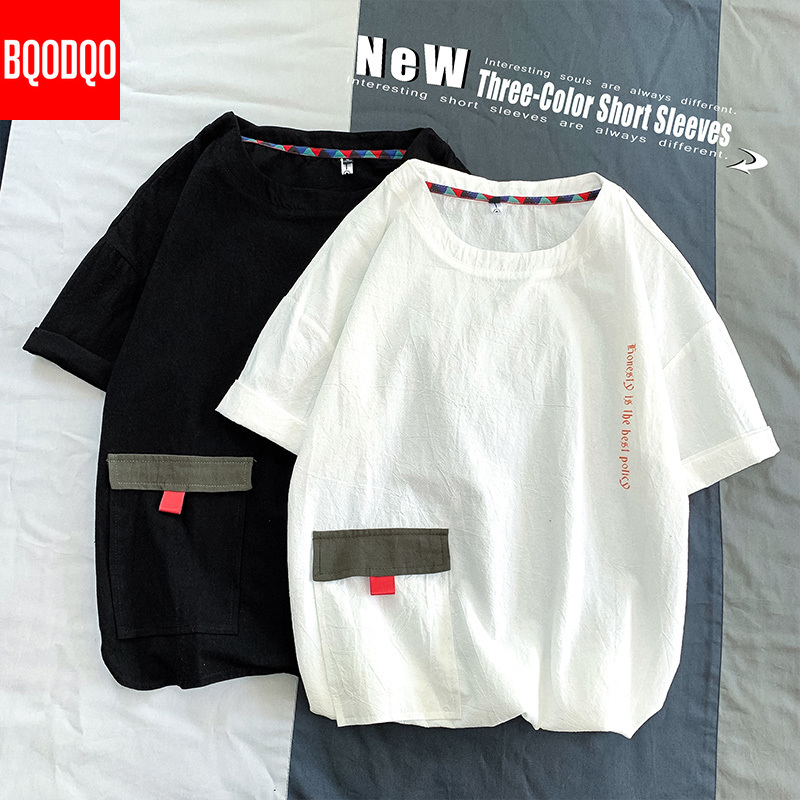 Hip Hop Funny T Shirts Men Harajuku 5XL Short Sleeve O-neck Tshirts Japanese Plus Size T Shirt Male Fashion Loose Casual Tees