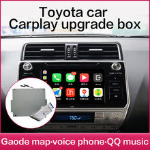 Bezprzewodowy apple carplay toyota Android Auto dla PRIUS Hilux Camry Tundra Sienna Fortuner Landcruiser Prado multimedialne lustro(China)