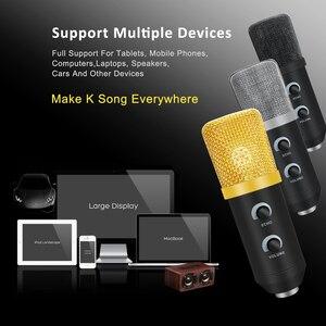 Image 5 - MK F100TL Usb コンデンサーマイクキットポッドキャスト用スタンドと録音用マイクスタジオの Pc マイクカラオケラップトップ Skype