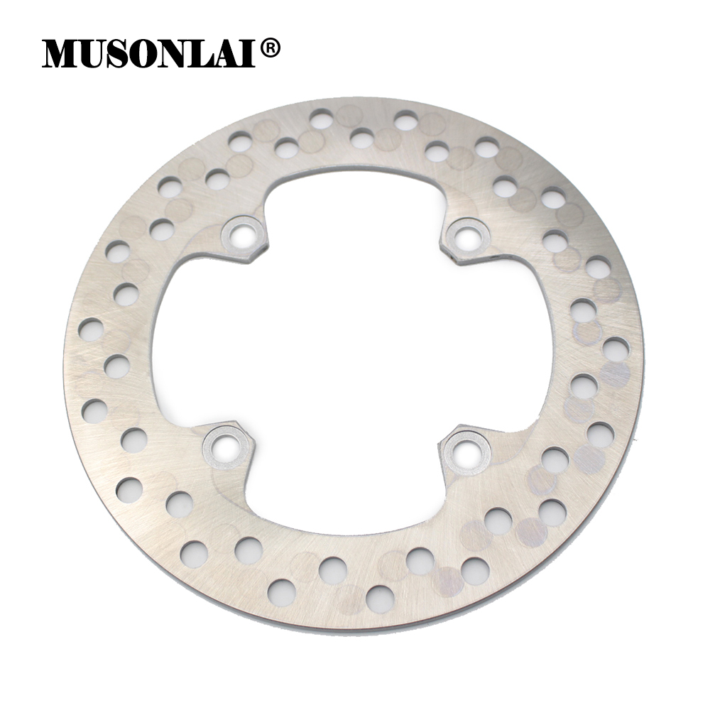 Motorcycle Rear Brake Disc Rotor For <font><b>Honda</b></font> CRF230M XR250SM XL250RL XL250 CRM250 CRM250R SL250 <font><b>XLR250</b></font> XR250 XR400 XR600 NX500 image