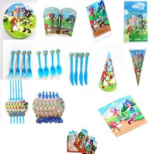 Sonic Disposable Tableware Supplies Baby Shower Birthday Party Plates Flags Toppers Wrappers balloons Party Decoration