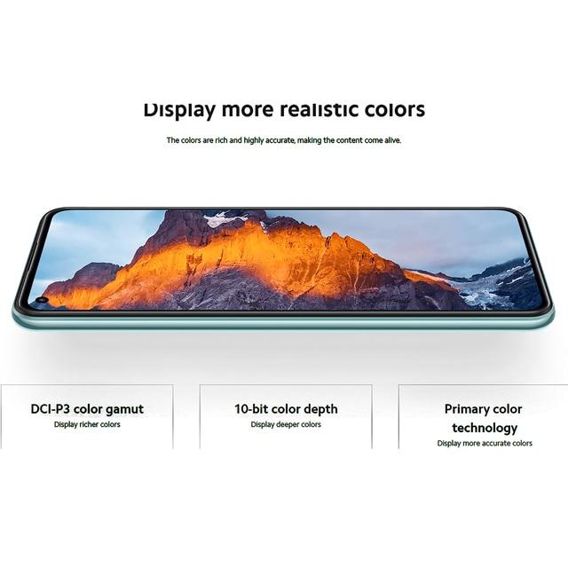 New Global Version Xiaomi Mi 11 Lite 5G Smartphone 6GB+128GB Snapdragon 780G Eight Core 64MP NFC AMOLED Full Screen 90HZ Refresh 6