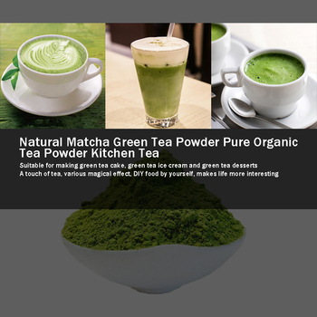 499g Natural Matcha tea  Powder Pure Organic Portable Mini Matcha Green tea Powder Professional Kitchenpaper Bags tea Bag 2