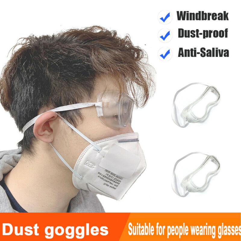 1pc Safety Anti Fog Dust Glasses Protective Medical Goggles Chemical Eyewear