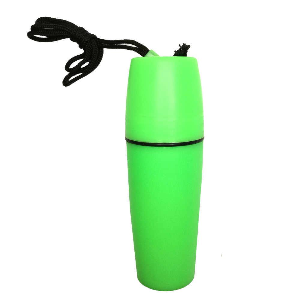 Kayık tekne yelken yüzme su geçirmez kuru konteyner kutusu taşınabilir dayanıklı plastik kuru şişesi ile kordon