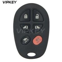 Remtekey GQ43VT20T Remote fob 6 button 315mhz for Toyota Sienna 2005 2006 2007 2008 2009 89742-AE050 car remote key fob remote car key fob 3 button for toyota sequoia sienna 2008 2009 2010 2011 2012 315 mhz gq43vt20t remtekey