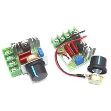 Dimming SCR Voltage-Regulator Motor-Speed-Controller Electronic-Module 2000W 220V AC