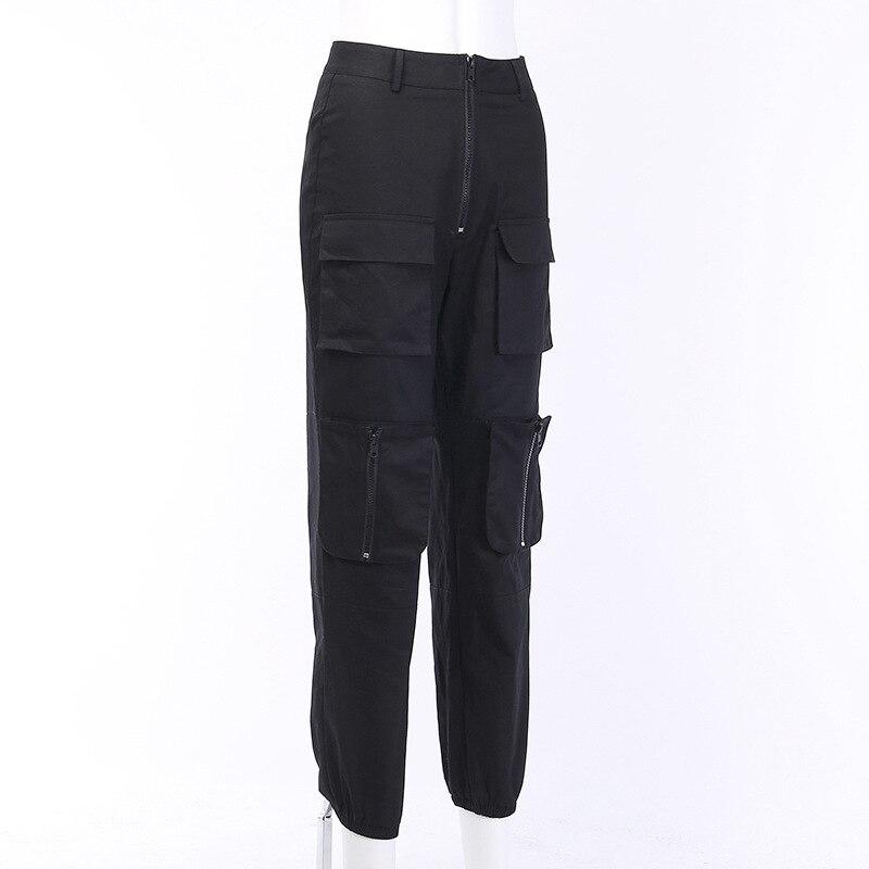 women High waist pants loose joggers women pants cargo pants women capris trousers