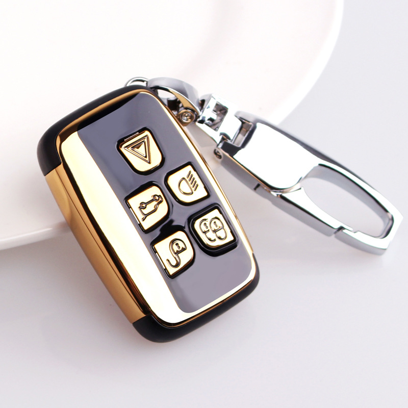 ABS Car Remote Key Shell Key Case For Land Rover Range Rover Sport Evoque Freelander 2 XJ XJL Jaguar XE XF X-X16 V12 F X