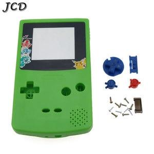 Image 5 - JCD dla GBC edycja limitowana Shell zamiennik dla Gameboy Color GBC konsola do gier pełna obudowa z zestaw przycisków
