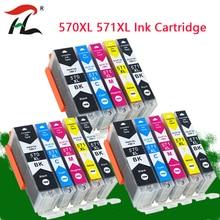 YLC 570 571 PGI 570 CLI 571 PGI570 compatible ink cartridge For canon PIXMA MG5750 MG5751 MG5752 MG6850 MG6851 MG6852 printer