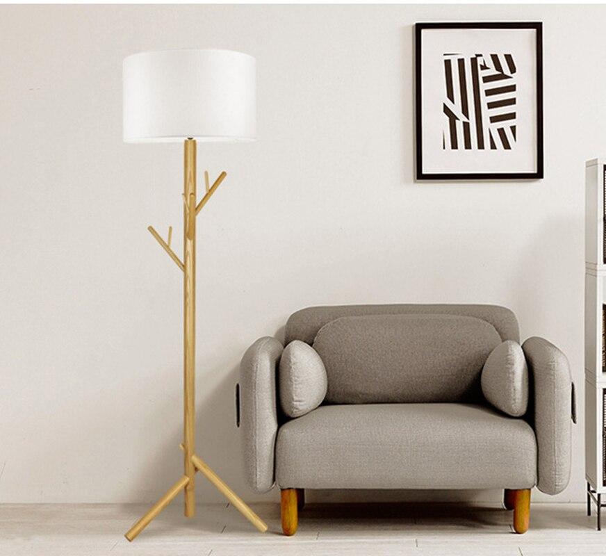 Wood Floor Lamp North Europe Style