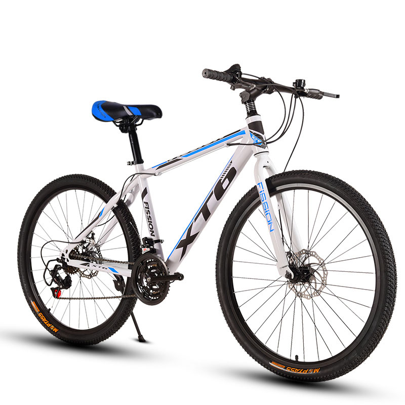 26 Inch Mountain Bicycle 21 Speed Adult Variable Speed Bicycle Cross-Country Racing Car With One Wheel For Boys And Girls