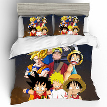 Cotton Duvets And Linen Sets Bedding Dragon Ball Duvet Cover King Size Set Bed Sheets Pillowcases