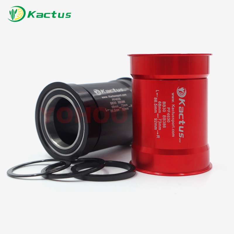 KACTUS TECH PRESSFIT BB 30 CERAMIC BEARING BICYCLE BOTTOM BRACKET ROAD MTB MOUNTAIN BIKE PRESS FIT BOTTOM BRACKET BICYCLE PARTS