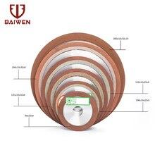 Алмазный шлифовальный круг 75/80/100/125 мм, режущий диск, шлифовальный станок с резиновым покрытием для вольфрамовой стали, Фрезерный инструмен...