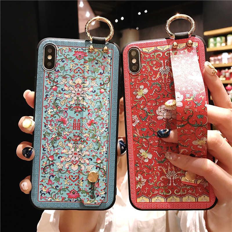 非常に美しいストラップケース新星 4 3i 2s 3e 4e 名誉 7A カバー電話ケース Huawei 社 P30 p20 プロ lite P10 プラスメイト 10 20 カバー