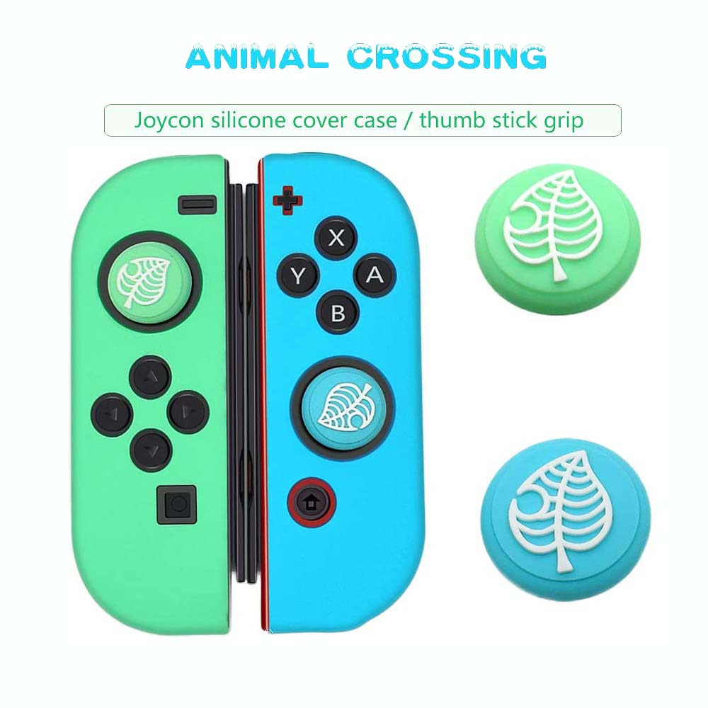 Animal Crossing Game Accessory Set For Nintendo Switch Travel Carrying Bag Protector Case Thumb Stick Grip Caps Charging Cable 4