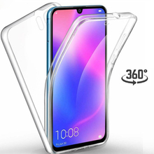 Двойной чехол с полным покрытием 360 для Huawei P30 P20 P10 Lite P Smart Mate 20 Honor 10 Lite 10i 8A 8X 20, прозрачный чехол