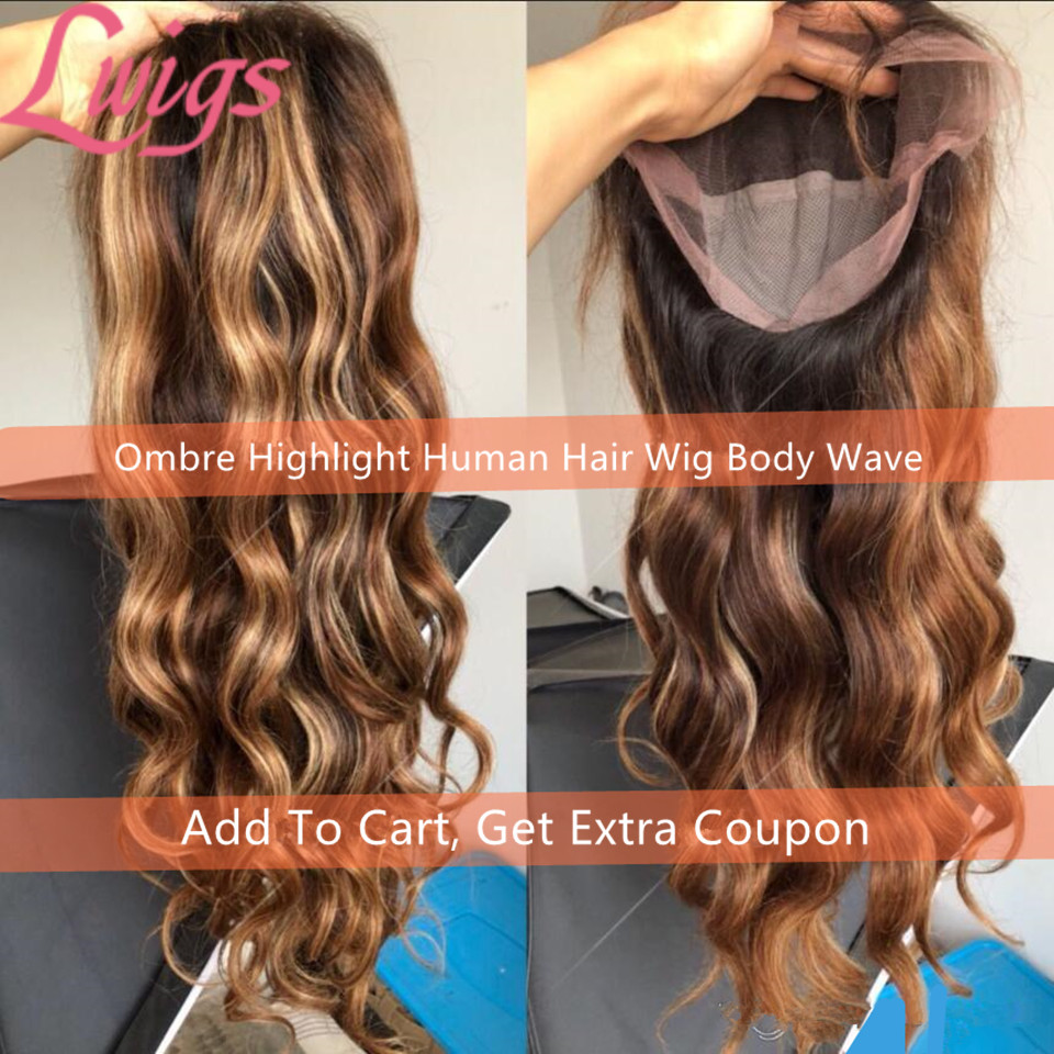 two-tone-ombre-highlight-lace-front-wigs-100%25-malaysian-virgin-human-hair-wavy-full-lace-wig-18-inches-wavy-for-beauty-free-shipping_