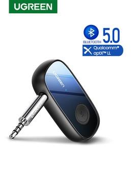 Ugreen Bluetooth Receiver 5.0 aptX LL 3.5mm AUX Jack Audio Wireless Adapter for Car PC Headphones Mic 3.5 Bluetooth 5.0 Receptor 1