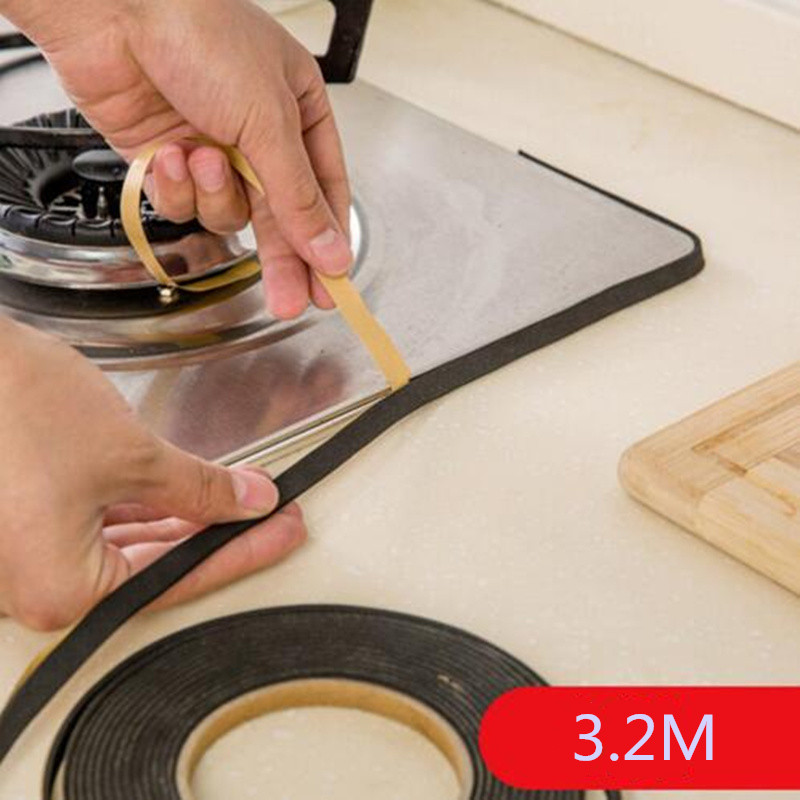 3M Flexible Single Sided Adhesive Flame Retardant Rubber Sponge Rubber Strip Tape For Duct Window Door Seal Strip