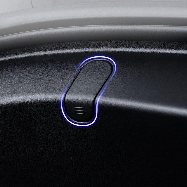 YZ 2Pcs for Tesla Model 3 Front Trunk Bag Hooks for Tesla Model3 Frunk Hooks Clip Bag Cargo Hook for Tesla Model 3 Accessories 5