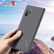 For Samsung Galaxy Note 10 Plus 5G Case Fashion Anti fall For Samsung Note10 Back Cover Extremely thin Hard PC Free shipping samsung note 10 plus case original clear hard cover transparent pc plating samsung galaxy note 10 plus 5g note10 pro back case