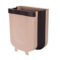 Drzwi do szafki kuchennej wiszące duży kosz na śmieci strona główna europejski non-cover plastikowy pojemnik do przevhowywania śmieci trwałe