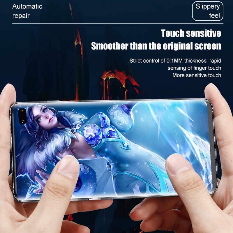 3Pcs Hydrogel ฟิล์มหน้าจอสำหรับ Samsung Galaxy S8 S9 S10 S20 PLUS Ultra ป้องกันหน้าจอสำหรับ samsung Note 8 9 10