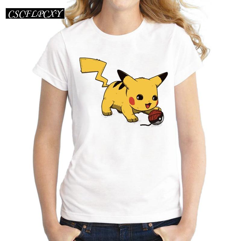 newest-2019-women-short-sleeve-t-shirt-picatchu-printed-lady-tops-funny-girl's-font-b-pokemon-b-font-t-shirts