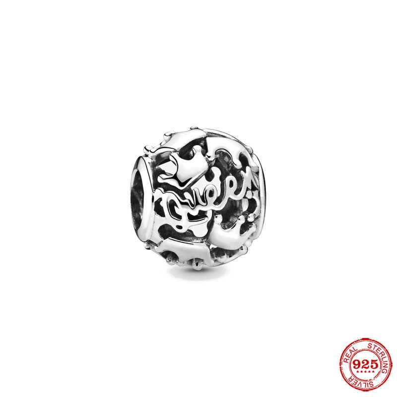 2019 nuovo 1pc 925 sterling argento ALADDIN TAPPETO MAGICO GIRO corona cranio del branello Pandora Pendenti E Ciondoli Bracciale originale per donne F095