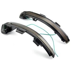 Image 4 - עבור פולקסווגן פאסאט B8 Arteon 2015 2016 2017 2018 2019 2Pcs רכב דינמי LED להפוך אות אור אחורית מראה נצנץ מחוון