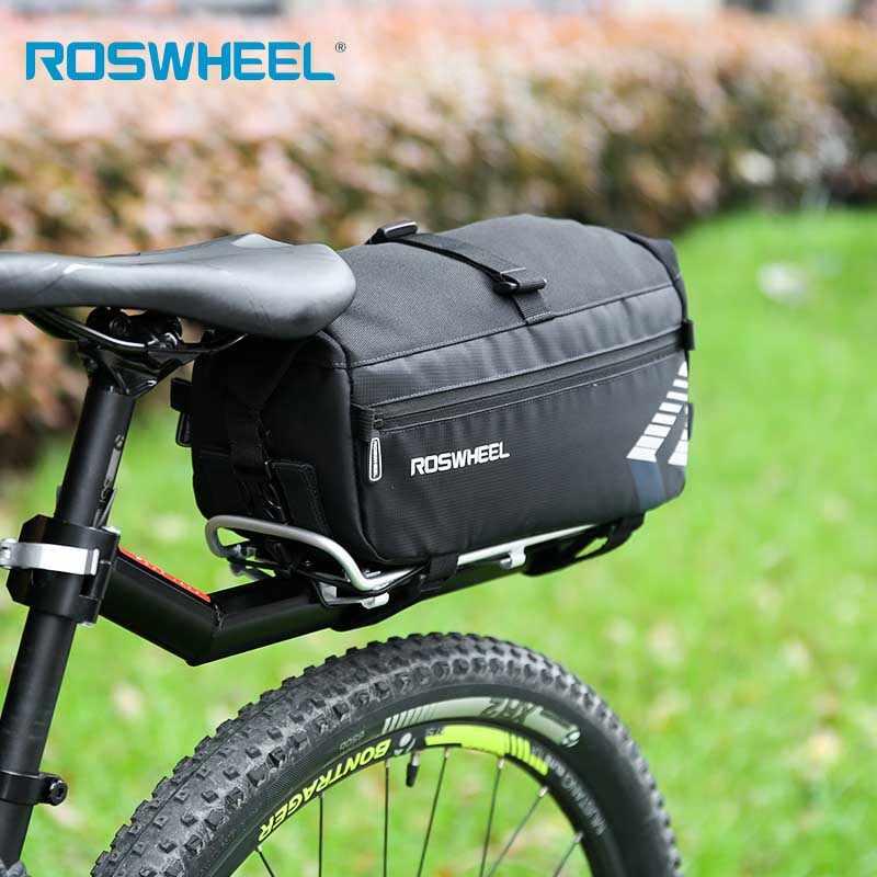 רכיבה על אופניים שקיות אופני כתף רצועת גלגל למעלה תיק ארנק תיק אחורי Rack Trunk רכיבה על אופניים טנא כיסוי אופניים אבזרים
