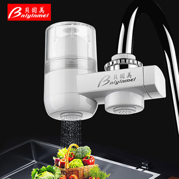 Tap Water Purifier Household Kitchen Faucet Washable Ceramic Percolator Water Filter Rust Bacteria Removal Replacement Filter kitchen faucet tap water purifier washable ceramic percolator household water purifier ceramic activated carbon filter element