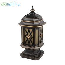 Европейская лампа столб садовый светильник boundry уличный для