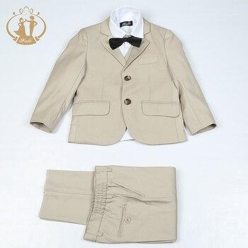 Nimble Suit for Boy Costume Enfant Garcon Mariage Boys Suits for Weddings Boys Blazer Jogging Garcon Single Button Baby Boy Suit