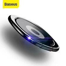 Baseus Thin Phone Ring Holder Universal Finger Ring Holder 360 Degree Rotation Desktop Bracket Stand Suitable For Magnet Holder