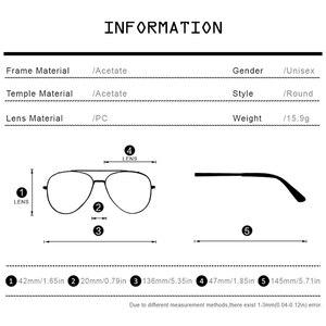 Image 4 - Hepidem Acetaat Optische Glazen Frame Vrouwen 2020 Vintage Ronde Brillen Mannen Bijziendheid Recept Nerd Bril Eyewear 9116