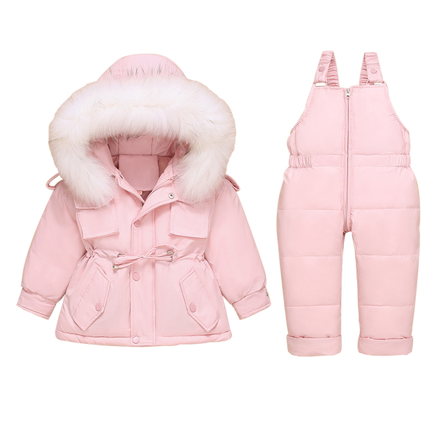 Toddler Down Coat and Pants 2
